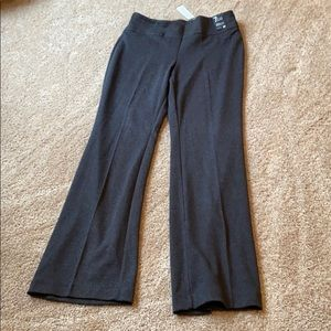 New York & co pull on boot leg 7th ave pant